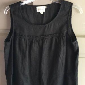 Pure DKNY black linen dress